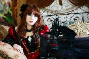 Kell Fung: Doll heart by mellysa