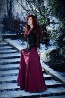 Red and Snow [3] by Luin-Tinuviel