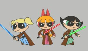 Jedi Puff Girls by mpcp13