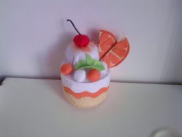 Orange Plushie Cake by carmietee