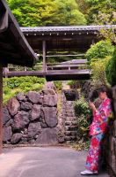 Japanese Girl with Phone by AndySerrano