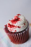 Red Velvet Cupcake by thebreat