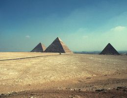 Three pyramids by ahmedyousri