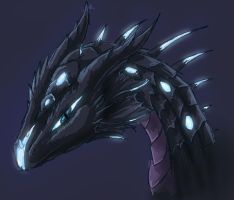 Arethus headshot by ShadowDragon22