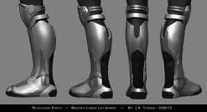 Masons Lower Leg Armor 02 by EtherealProject