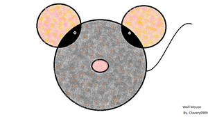 Wall Mouse by clavery0909