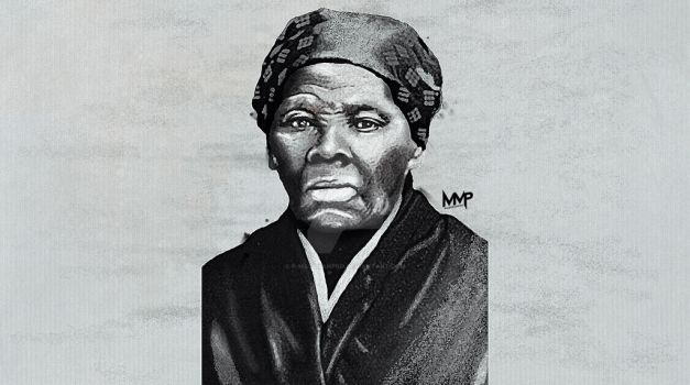 HarrietTubman drawing by P-MassManPro