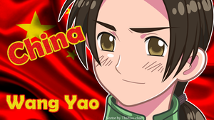 [APH] China (Wang Yao) Wallpaper by BunnyBeryl