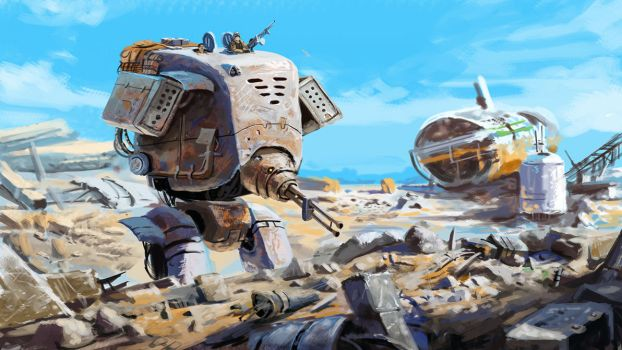 Scrap Land Patrollers by Skaya3000