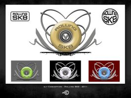 alt Conception - ROLLING SK8 - Logo by ALTERNATIVE-CREATION