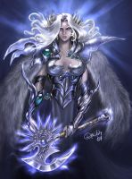 Brunhilde the Valkyrie by driany