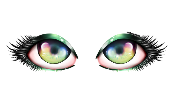 Eyes by LittleAmaiCoffee
