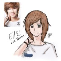 DOODLE: Taemin by JellyTart