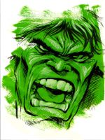 Marvel Blur - Hulk by mariocau