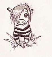 EMO Pig xD by Bitterest