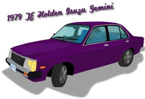 1979 TE Holden Isuzu Gemini by missingperson11