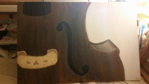 Double Upright Acoustic Bass C: by Hali00