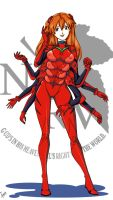 Multiarmed Asuka by AccessWorld