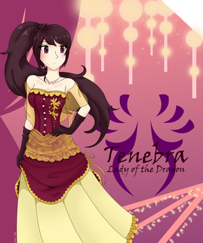 Tenebra, Lady of the Dragon by StaceySage