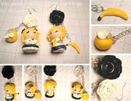 Vocaloid Adolescence Earrings by xRcks