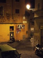 2008 Rome paste up by orticanoodles