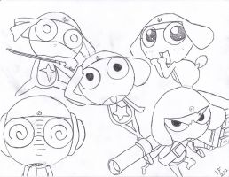 A.R.M.P.I.T Platoon from Sgt. Frog by Tapions-Flute