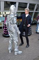 The Doctor and Cyberleader by masimage