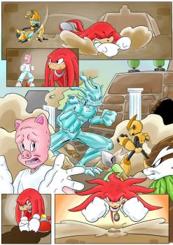 Knuckles: Skeletons in the Closet (Part 3: Page 2) by shamethedawg