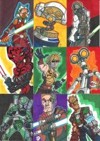 EU Prizes - Sketch Cards 02 by JoeHoganArt