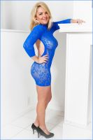 Kristin in Blue 4 by DPAdoc