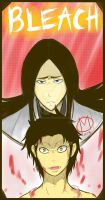 Young Kenpachi and Old Retsu by mhiikxilog