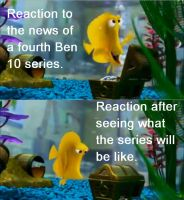 Bubble Fish Reaction to Ben 10 Omniverse by Mothy67