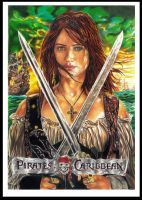 Penelope Cruz  Pirates of the Caribbean by BismarSantiago