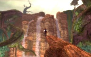 The Falls of Tyria by Alhon