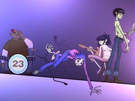 Gorillaz by Bliss-23