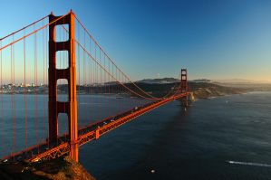 Golden Gate by day by JWFisher