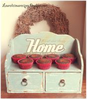 Chocolate Brownie Cupcakes by China-Dolly
