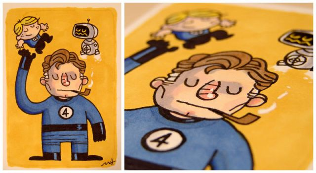 Mr. Fantastic by MattKaufenberg