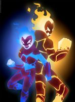 Ben10 com. Azula and Heatblast by TiaBlackRaven