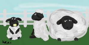 Shaun The Sheep 1 by sorjei