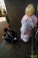 Blue Exorcist: Rin and Shiemi Cosplays by VariaK