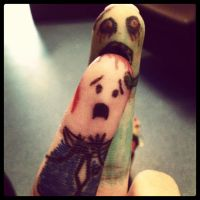 Finger Zombie! by DesignTheWild