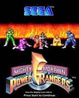 MMPR - Goes the way of Sega by ashfoxx
