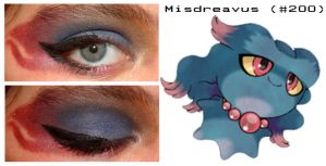 Pokemakeup 200 Misdreavus by nazzara