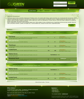 GoGreen PhpBB3 Skin by MsT4GFX