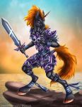 Unicorn Warrior by DrakainaQueen