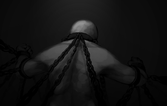Chained up by luvocere