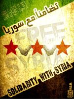 Solidarity With Syria ! by Khaalil