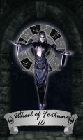 Skyrim Tarot 10 - Wheel of Fortune by Whisper292