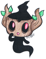 #708 Phantump by breina
